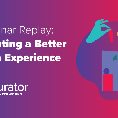 thumbnail: Webinar Replay: Curating a Better Data Experience